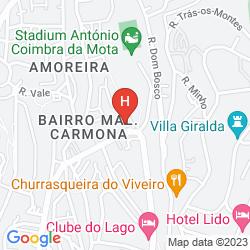 Karte CLUBE DO LAGO