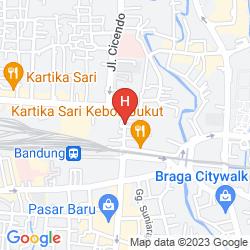 Karte KENANGAN HOTEL