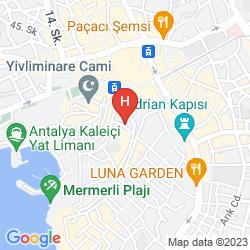 Karte ALP PASA ANTALYA KALEIÇI (OLD TOWN)