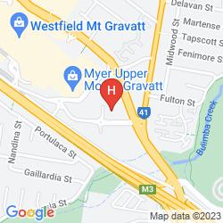 Karte TRAVELODGE GARDEN CITY