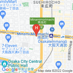 Karte IL GRANDE UMEDA