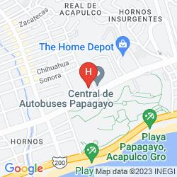 Karte TORTUGA EXPRESS