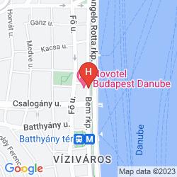 Karte NOVOTEL DANUBE