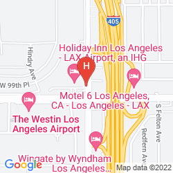 Karte HOLIDAY INN LOS ANGELES INTERNATIONAL AIRPORT