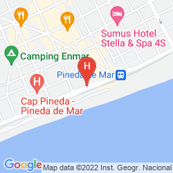 Karte AQUA HOTEL PROMENADE