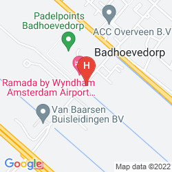 Karte RAMADA AMSTERDAM AIRPORT SCHIPHOL