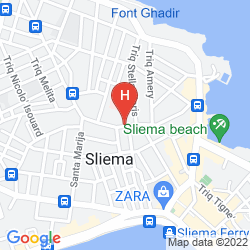 Karte THE PALACE - AX HOTELS