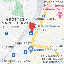 Karte CORNAVIN