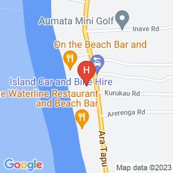 Karte MANUIA BEACH RESORT