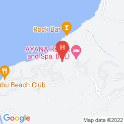 Karte FOUR SEASONS RESORT BALI AT JIMBARAN BAY