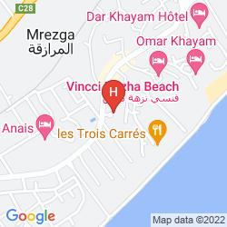 Karte EL MOURADI BEACH