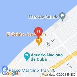 Karte BE LIVE HAVANA CITY COPACABANA