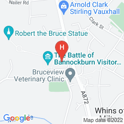 Karte KING ROBERT HOTEL