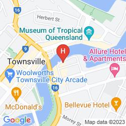 Karte TOWNSVILLE CENTRAL
