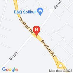Karte CORUS HOTEL SOLIHULL