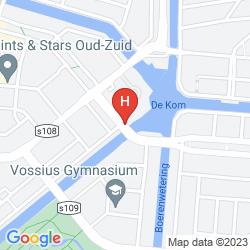Karte APOLLO HOTEL AMSTERDAM, A TRIBUTE PORTFOLIO HOTEL