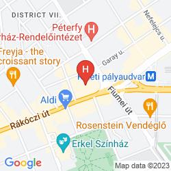 Karte HUNGARIA CITY CENTER