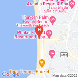 Karte ANDAMAN SEAVIEW HOTEL KARON BEACH PHUKET