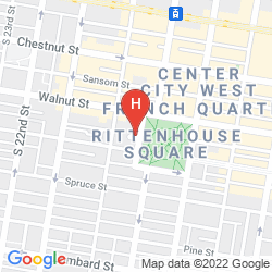 Karte THE RITTENHOUSE
