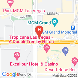 Karte MGM GRAND