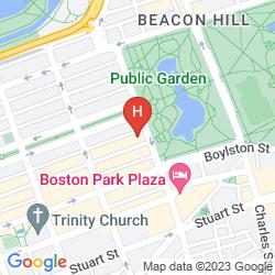 Karte TAJ BOSTON