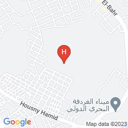 Karte HILTON HURGHADA RESORT