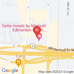Karte DELTA HOTELS BY MARRIOTT EDMONTON SOUTH CONFERENCE CENTRE