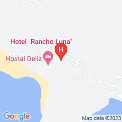 Karte GRAN CARIBE RANCHO LUNA