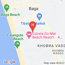 Karte VILA GOESA BEACH RESORT
