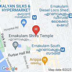 Karte GRAND HOTEL