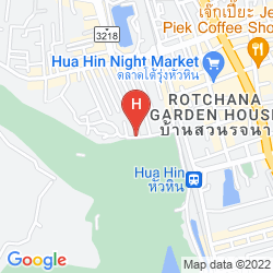 Karte HILTON HUA HIN RESORT & SPA