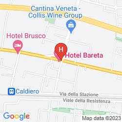 Karte BARETA