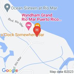 Karte WYNDHAM GRAND RIO MAR PUERTO RICO GOLF & BEACH RESORT