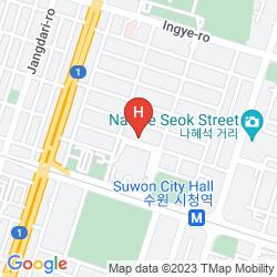 Karte KOREA