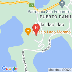 Karte LLAO LLAO HOTEL & RESORT GOLF SPA