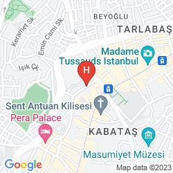 Karte PERA PALACE HOTEL JUMEIRAH
