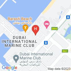 Karte THE WESTIN DUBAI MINA SEYAHI BEACH RESORT & MARINA