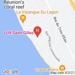 Karte VILLAS DU LAGON