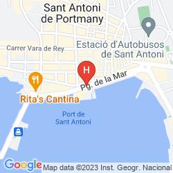 Karte HOTEL S'ESTANYOL