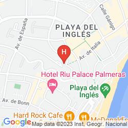 Karte APARTAMENTOS DON DIEGO
