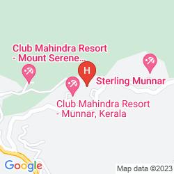 Karte CLUB MAHINDRA LAKE VIEW