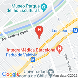Karte APART HOTEL NERUDA