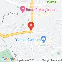 Karte RIU DON MIGUEL