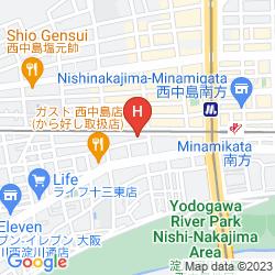 Karte CLAITON SHIN-OSAKA