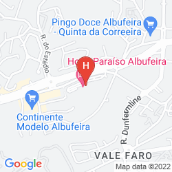 Karte PARAISO DE ALBUFEIRA