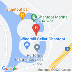 Karte GOLDEN TULIP AL JAZIRA HOTEL AND RESORT