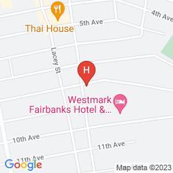 Karte WESTMARK FAIRBANKS HOTEL CONFERENCE CENTER