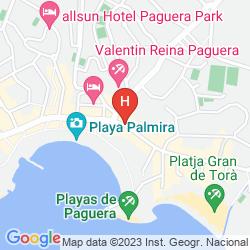 Karte HESPERIA MALLORCA VILLAMIL
