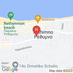 Karte THEARTEMIS PALACE
