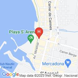 Karte WHALA!BEACH